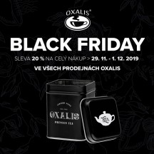 Black Friday v Oxalis!